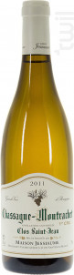Chassagne-Montrachet Premier Cru Clos Saint-Jean - Domaine Jessiaume - 2011 - Blanc