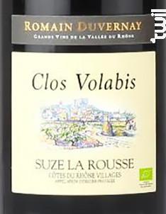 Suze-la-Rousse - Clos Volabis - 2018 - Rouge