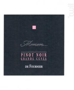 Mmm... Pinot Noir - FOURNIER Père & Fils - 2016 - Rouge