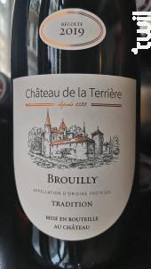 Brouilly - Château de la Terrière - 2019 - Rouge