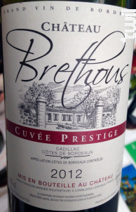 Château Brethous - Cuvée Prestige - Château Brethous - 2014 - Rouge