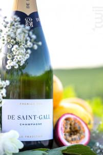 Le Tradition Premier Cru - Champagne de Saint-Gall - Non millésimé - Effervescent