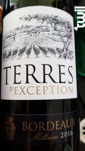 Le Grand Terroir - Terroir de Lagrave - 2016 - Rouge