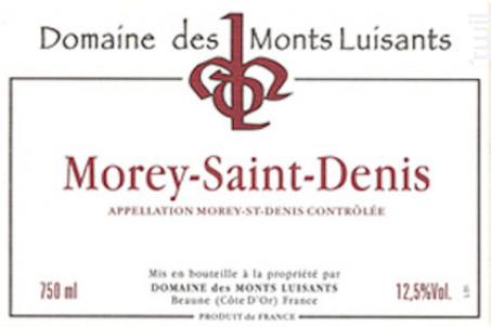Morey-Saint-Denis - Domaine des Monts Luisants - 2002 - Rouge