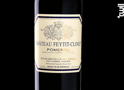 Château Feytit Clinet - Château Feytit Clinet - 2013 - Rouge