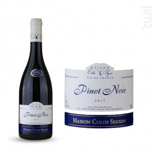 Pinot Noir Excellence - Maison Colin Seguin - 2017 - Rouge