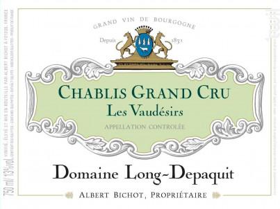 Chablis Grand Cru Les Vaudésirs - Domaine Long-Depaquit - Domaines Albert Bichot - 2018 - Blanc
