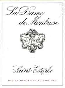 La Dame de Montrose - Château Montrose - 2017 - Rouge