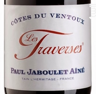 Les Traverses - Paul Jaboulet Aîné - 2016 - Rouge