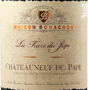 La Tiare du Pape - Maison Bouachon - 2016 - Rouge