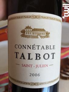 Connétable Talbot - Château Talbot - 2005 - Rouge
