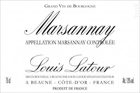 Marsannay - Maison Louis Latour - 2008 - Rouge