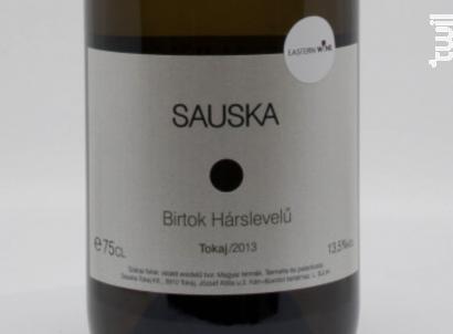 Sauska - Birtok Harslevelu - Sauska - 2013 - Blanc
