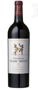 Château Clerc Milon - Château Clerc Milon - 2012 - Rouge