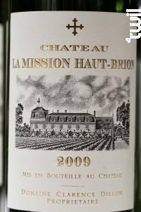 Château La Mission Haut Brion - Château La Mission Haut Brion - Domaine Clarence Dillon - 2012 - Blanc
