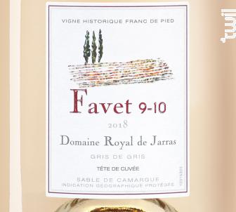 Favet 9-10 - Domaine Royal de Jarras - 2018 - Rosé