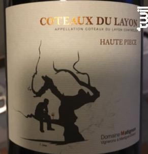 Haute Pièce - Coteaux du Layon - Domaine Matignon - 2015 - Rouge