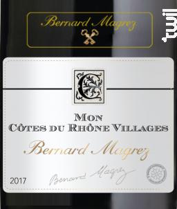 Mon Côtes-du-Rhône-Villages - Bernard Magrez - 2018 - Rouge