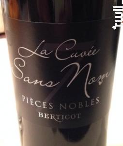 La Cuvée Sans Nom - Berticot - 2014 - Rouge