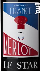 Le Star Merlot - Maison Le Star - 2016 - Rouge