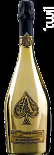 Brut Gold - Armand de Brignac - Non millésimé - Effervescent