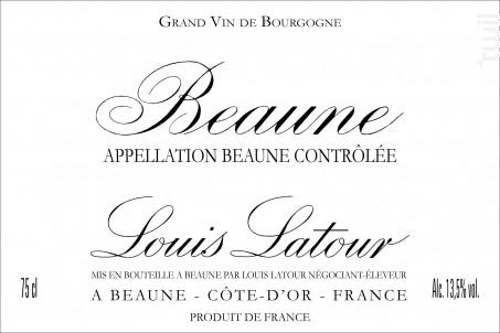 Beaune - Maison Louis Latour - 2006 - Blanc