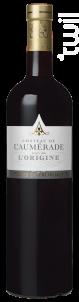 L'ORIGINE ROUGE - Château de l'Aumerade - 2018 - Rouge