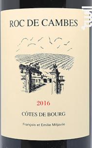 Château Roc de Cambes - Château Roc de Cambes - 2018 - Rouge