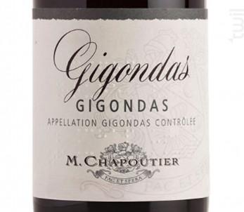 Gigondas - Maison M. Chapoutier - 2019 - Rouge