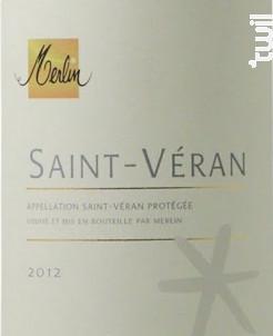 Saint-Véran - Domaine Olivier Merlin - 2015 - Blanc