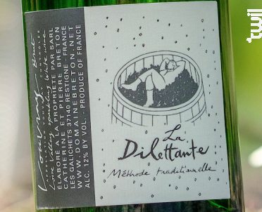La Dilettante - Méthode Traditionnelle - Catherine et Pierre Breton - Non millésimé - Effervescent