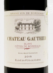 Château Gauthier - Domaine Bonabaud - 2015 - Rouge
