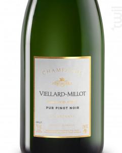 Pur Pinot Noir Grand-Cru - Champagne Viellard-Millot - Non millésimé - Effervescent