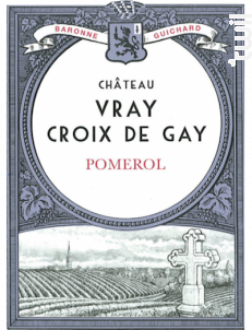 Château Vray Croix de Gay - Château Vray Croix de Gay - 2012 - Rouge