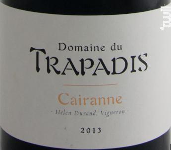 Les Garrigues - Domaine du Trapadis - 2017 - Rouge