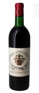 Château Gressier Grand Poujeaux - Château Gressier Grand Poujeaux - 1970 - Rouge