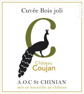 Cuvée Bois Joli - Château Coujan - 2017 - Blanc