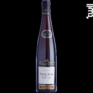 Pinot Noir Vieilles Vignes  Réserve - Cave de Ribeauvillé - 2016 - Rouge