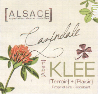 Cazindale - Albert Klee - 2019 - Blanc
