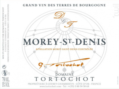 MOREY ST DENIS - DOMAINE TORTOCHOT - 2017 - Rouge