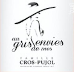 Au Gris de mes Envies - Famille Cros-Pujol - Château Grézan - 2018 - Rosé