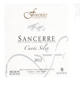 Sancerre Cuvée Silex - FOURNIER Père & Fils - 2015 - Blanc