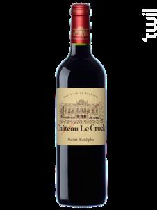 Château LE CROCK - Château Le Crock - 2018 - Rouge