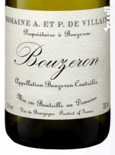 Bouzeron - Domaine de Villaine - 1988 - Blanc
