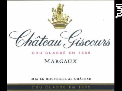 Château Giscours - Château Giscours - 2016 - Rouge