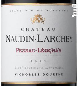 Château Naudin Larchey - Vignobles Dourthe - Château Naudin Larchey - 2014 - Rouge