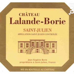 Château Lalande Borie - Château Lalande Borie - 2013 - Rouge