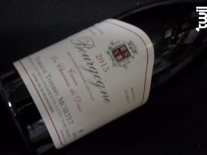 Bourgogne Pinot Noir Les Charmes de Daix - Domaine Thierry Mortet - 2016 - Rouge