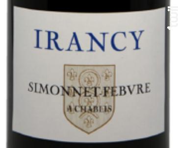 Irancy - Simonnet Febvre - 2017 - Rouge