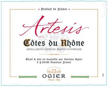 Artesis - Maison Ogier - 2018 - Blanc